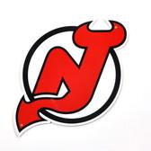 """New Jersey Devils 12"""" Lasercut Steel Logo Sign"""