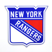"New York Rangers 12"" Lasercut Steel Logo Sign"