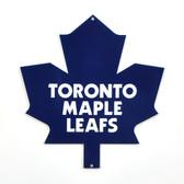 "Toronto Maple Leafs 12"" Lasercut Steel Logo Sign"
