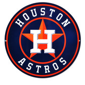 "Houston Astros 12"" Lasercut Steel Logo Sign"
