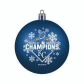 Kansas City Royals 2015 World Series Champions Shatterproof Ornament