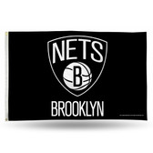 Brooklyn Nets  3X5 Banner Flag