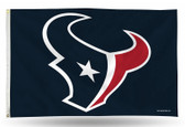 Houston Texans  3 X 5 Banner Flag (NAVY)