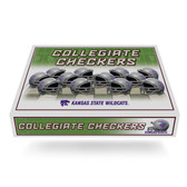 Kansas State Wildcats  Checker Set