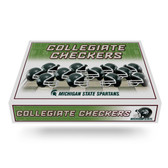 Michigan State Spartans  Checker Set