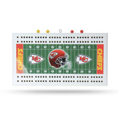 Kansas City Chiefs   Field Cribbage Board