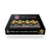 Green Bay Packers  Checker Set