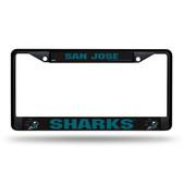 San Jose Sharks  Black Chrome Frame