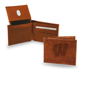 Wisconsin Badgers  Embossed Billfold