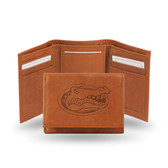 Florida Gators emboss Leather Trifold