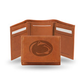Penn State Nittany Lions  Embossed Leather Trifold