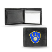 Milwaukee Brewers  Embroidered Billfold