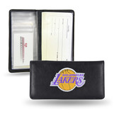 Los Angeles Lakers  Embroidered Checkbook