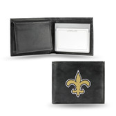 New Orleans Saints  Embroidered Billfold