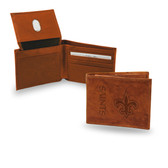 New Orleans Saints  Embossed Billfold