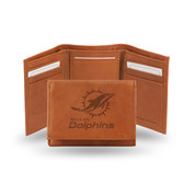 Miami Dolphins  Embossed Trifold