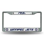 Winnipeg Jets  Chrome Frame