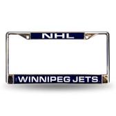Winnipeg Jets  Laser Chrome Frame
