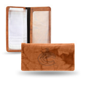 Vancouver Canucks Embossed Checkbook Cover