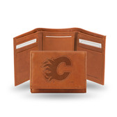 Calgary Flames Embossed Trifold