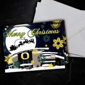 Oregon  Christmas  Card 5 Pack