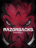 Arkansas Razorbacks  Football Poster