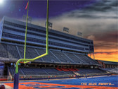 Boise State Broncos Blue Awaits Poster
