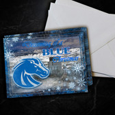 Boise State Broncos Dreaming Christmas Card 5 Pack