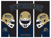 Pitt Panthers Panther Art Poster