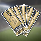 Pitt Panthers Party Ticket 10 Pack Invitations