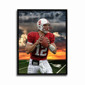 Stanford Cardinal Andrew Luck Sunset Poster