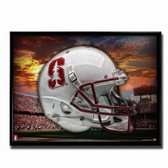 Stanford Cardinal Head Gear Poster