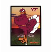 Virginia Tech Hokie Sunrise Poster