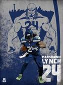 Beast Marshawn Lynch Poster