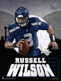 Scramble Russell Wilson Poster