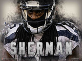 Cover Man Richard Sherman Poster