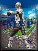 MVP Tom Brady Poster