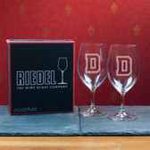 Dartmouth College  Set of 2 Riedel 18 OZ Red Wine Glasses