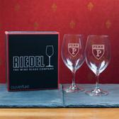 University of Pennsylvania Set of 2 Riedel 18 OZ Red Wine Glasses