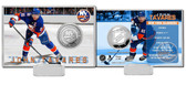 New York Islanders John Taverez Silver Coin Card