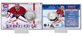 Montreal Canadiens Carey Price Silver Coin Card