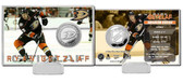 Anaheim Ducks Ryan Getzlaf Silver Coin Card