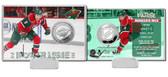 Minnesota Wild Zack Parise Silver Coin Card