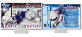 New York Rangers Henrick Lundqvist Silver Coin Card