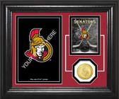 "Ottawa Senators ""Fan Memories"" Bronze Coin Desktop Photo Mint"