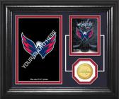 "Washington Capitals ""Fan Memories"" Bronze Coin Desktop Photo Mint"