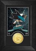 San Jose Sharks Bronze Coin Mini Mint