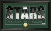 "Dallas Stars ""Silhouette"" Bronze Coin Panoramic Photo Mint"
