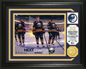 "Buffalo Sabres Jack Eichel ""Inaugural NHL Game"" Bronze Coin Photo Mint"