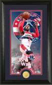 "Washington Wizards John Wall ""Supreme"" Bronze Coin Panoramic Photo Mint"
